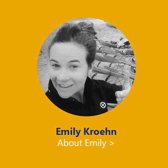 outdoor education provider Emily